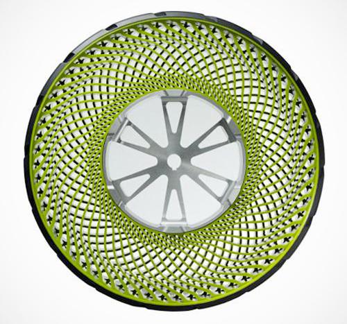Безвоздушные шины-новая реальность